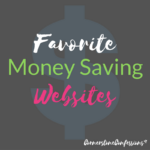 Favorite Money Saving Websites