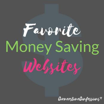 Favorite Money Saving Websites