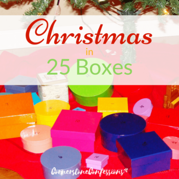Christmas in 25 Boxes--wonderful countdown devotional printable