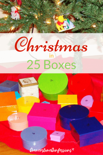 Christmas in 25 Boxes