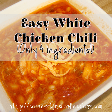 Easy White Chicken #Chili