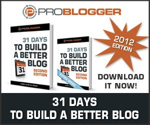 31 Days to a Better Blog
