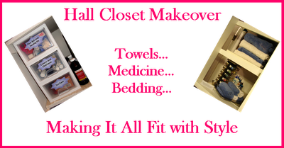 Hall Closet Makeover: Making It All Fit with Style