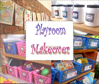 Playroom Makover, Pt. 2