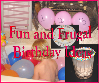 Fun and Frugal Birthday Ideas