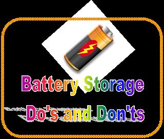 Battery Storage and Organization