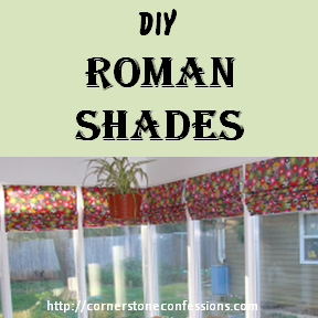 Easy DIY Roman Shades