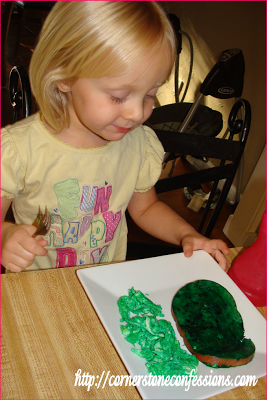 Green Eggs and Ham...yum!