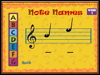Note Names Game