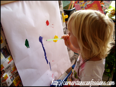 Straw Blowing Painting