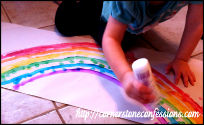 Do-a-Dotting a Rainbow