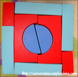 A Shape Block Quilt