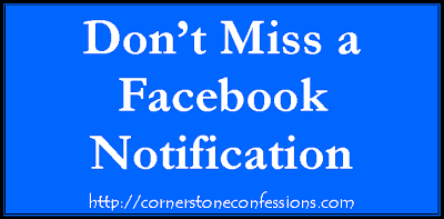 Don't Miss Facebook Notifications
