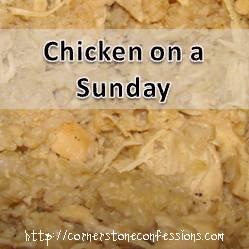 Chicken on a Sunday