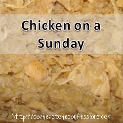 Chicken on a Sunday
