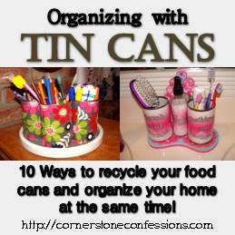 Organizing with Tin Cans