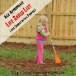 Age Appropriate Life Skills List