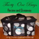Thirty-One Large Utility Tote Review and Giveaway!