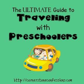 Traveling with Preschoolers