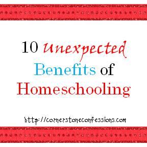 10 Unexpected Benefits of Homeschooling