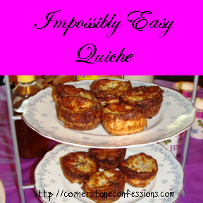 Impossibly Easy Quiche Recipe