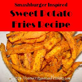 Sweet Potato Fries #Recipe