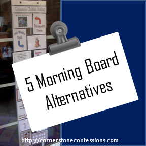 5 Morning Board Alternatives