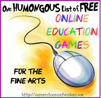 Online Education Games--Fine Arts