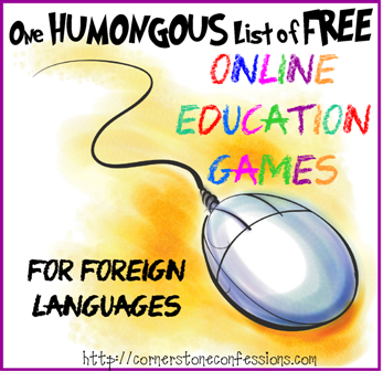Online Education Games--Foreign Languages