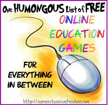 One Humongous List of Free Online Education Games for Everything In-Between