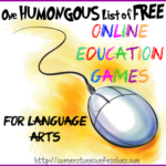 One Humongous List of Free Online Education Games for Language Arts