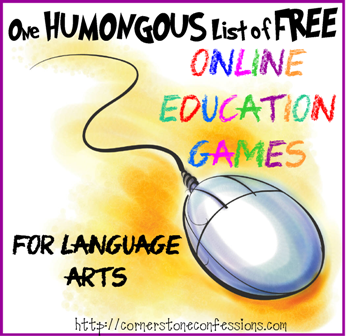 Online Education Games--Language Arts