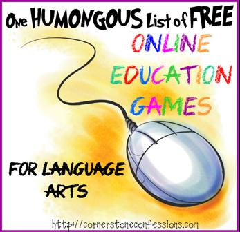 Online Education Games--Language Arts