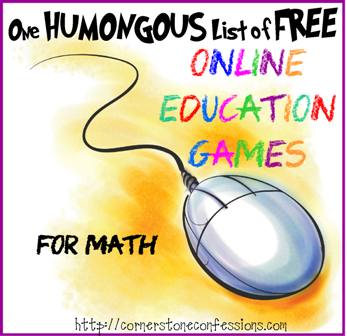 Online Education Games--Math