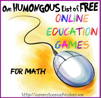 Online Education Games--Math