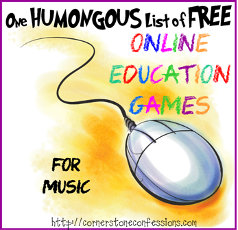 Online Education Games--Music