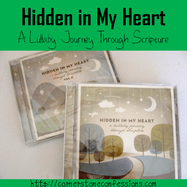 Hidden in My Heart by Scripture Lullabies {Review and Giveaway}