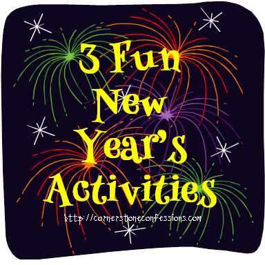 3 Fun New Year's Activities #newyearsday
