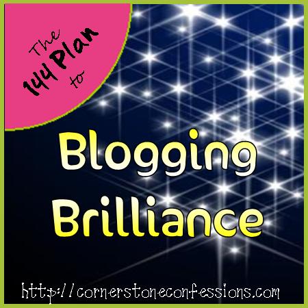 Blogging Brilliance on CornerstoneConfessions.Com