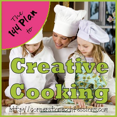 Creative Cooking on CornerstoneConfessions.Com