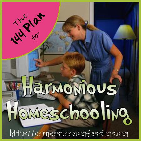 Harmonious Homeschooling on CornerstoneConfessions.Com