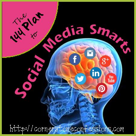 Social Media Smarts on CornerstoneConfessions.Com