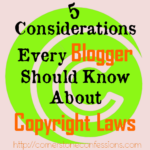 5 Copyright Laws Every Blogger Should Know