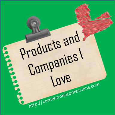 Cornerstone Confessions' Favorite Products and Companies