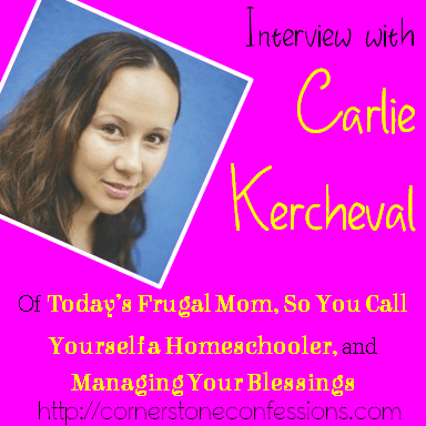 Interview with Carlie Kercheval