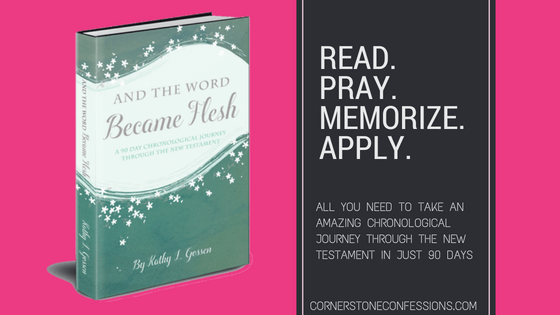 Read. Pray. Memorize. Apply. It's all there in And the Word Became Flesh