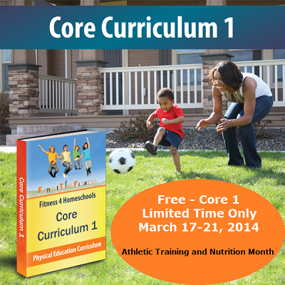 FREE THIS WEEK ONLY:  Family Time Fitness Core 1