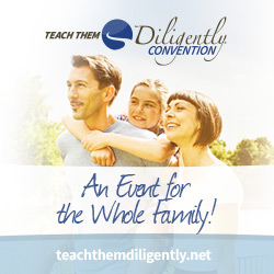 Teach Them Diligently Registration is Now Open!