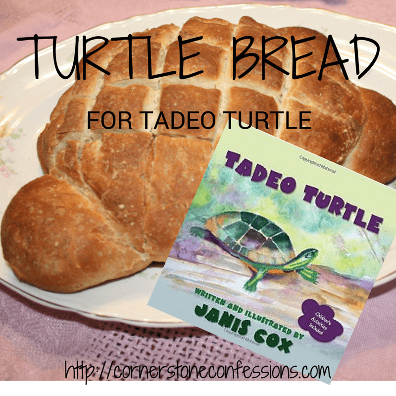 Turtle Bread for Tadeo Turtle - Cornerstone Confessions