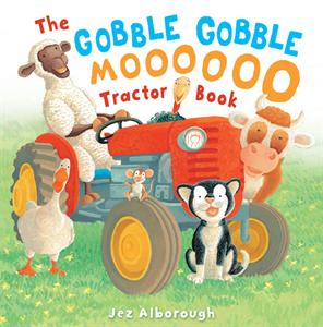 Gobble Gobble Moo Tractor Book--a hysterical book of sounds